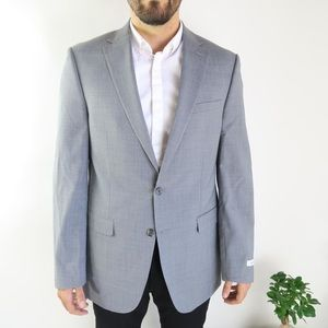 COPY - Calvin Klein Men's Suit Jacket -Size 42L -…